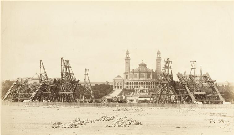 A construção da Torre Eiffel 03