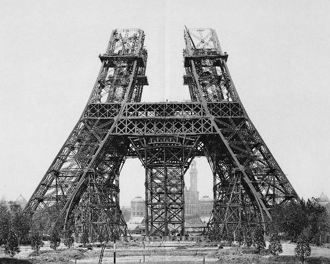A construção da Torre Eiffel 11