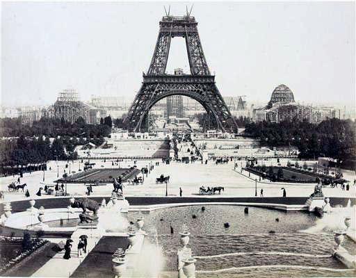 A construção da Torre Eiffel 13