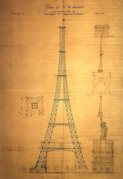 A construção da Torre Eiffel 17