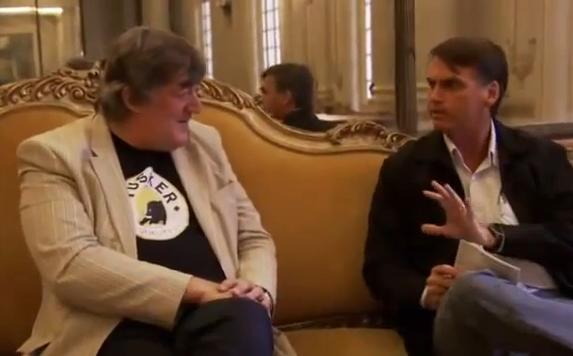 Stephen Fry, Jair Bolsonaro e a risada maligna