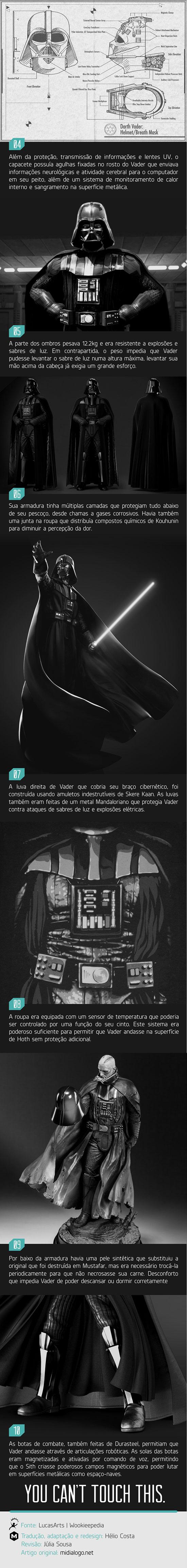 10 coisas que você não sabia sobre a armadura do Darth Vader 02