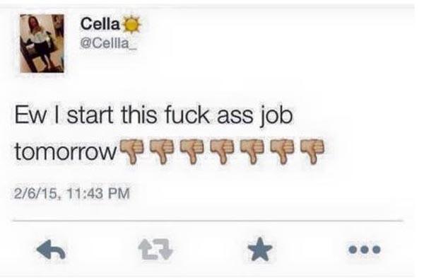 Antes-de-começar-em-novo-emprego-garota-é-demitida-pelo-Twitter