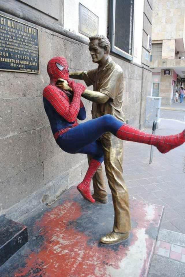 Como arruinar estátuas 10