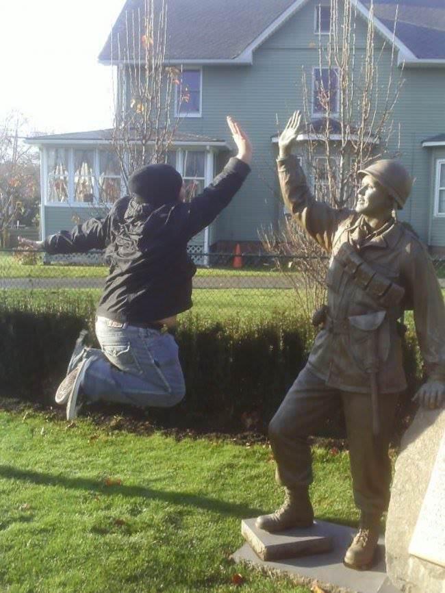 Como arruinar estátuas 17