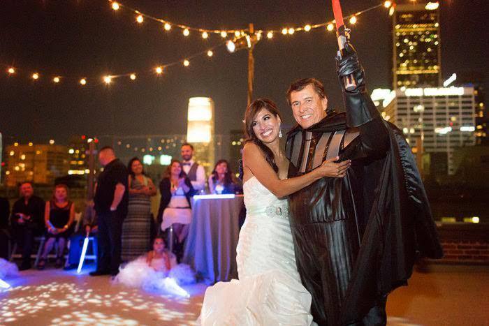 O mais lindo casamento temático que já vi | Star Wars 07