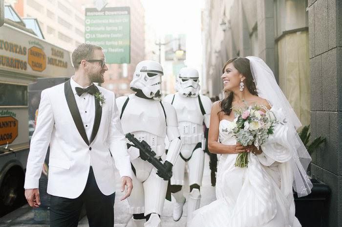 O mais lindo casamento temático que já vi | Star Wars 10