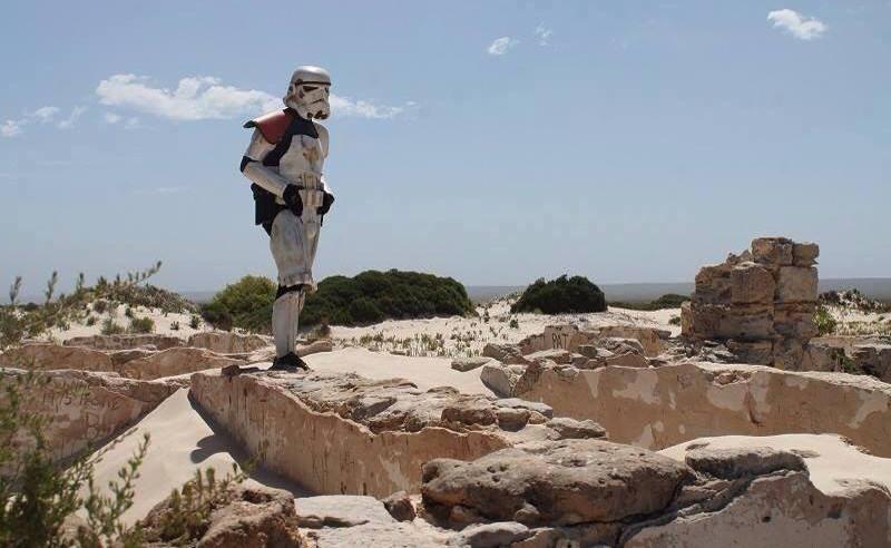 O uniforme dos Stormtroopers são à prova de cobra2