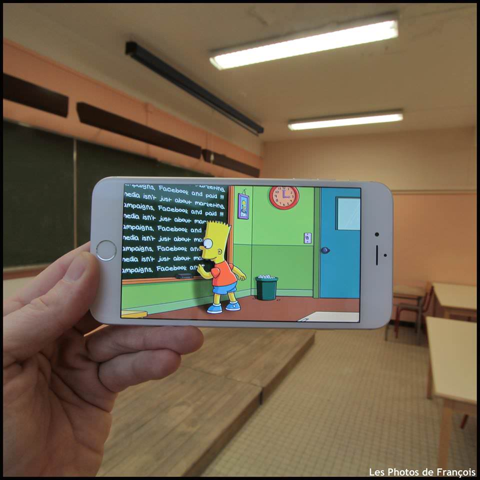 Qual o resultado de um iPhone  perspectiva forçada  imaginação 05