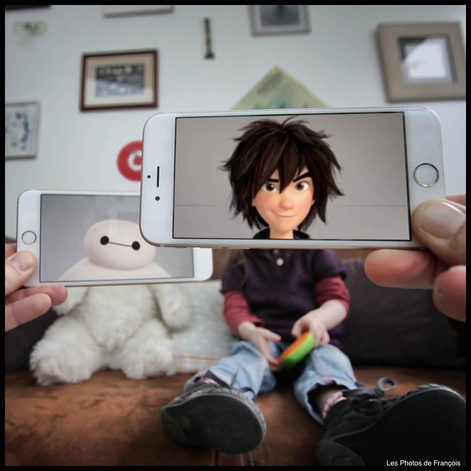 Qual o resultado de um iPhone  perspectiva forçada  imaginação 11
