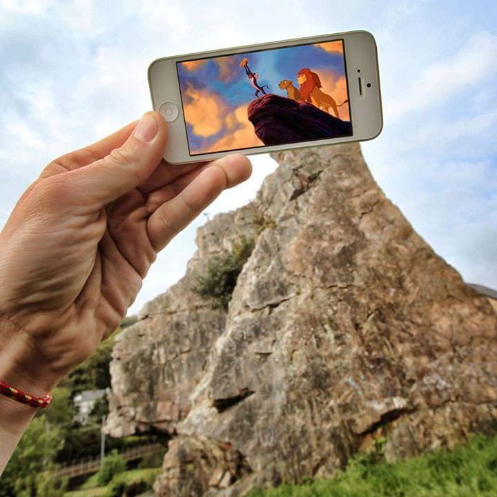 Qual o resultado de um iPhone  perspectiva forçada  imaginação 01