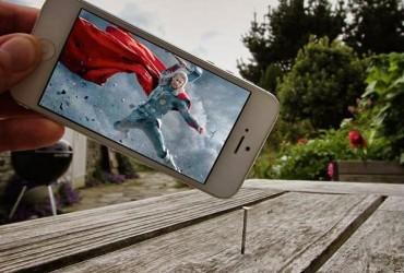Qual o resultado de um iPhone  perspectiva forçada  imaginação 16