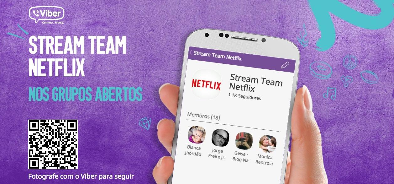 Grupos Abertos Viber NetFlix 02