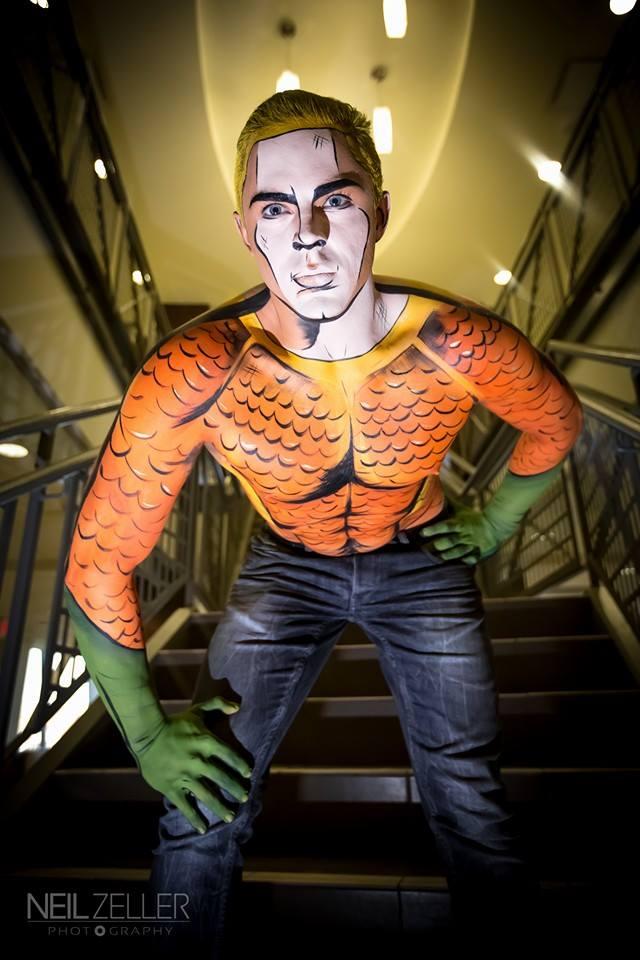 Maquiadora transforma pessoas em heróis de histórias em quadrinhos 02