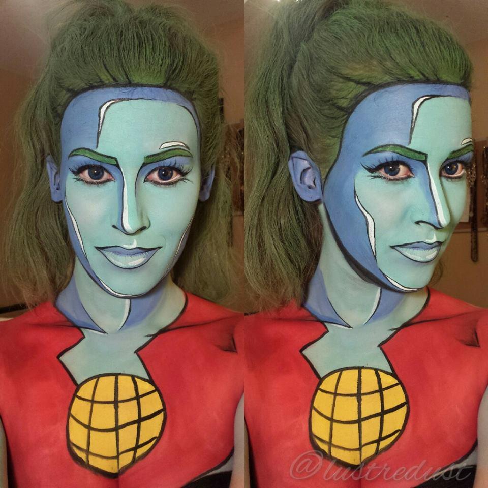 Maquiadora transforma pessoas em heróis de histórias em quadrinhos 07