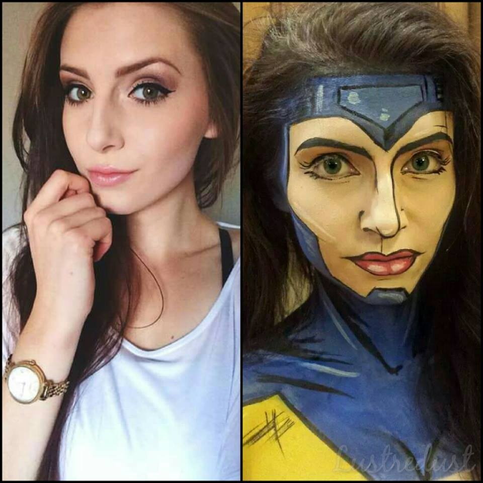 Maquiadora transforma pessoas em heróis de histórias em quadrinhos 03
