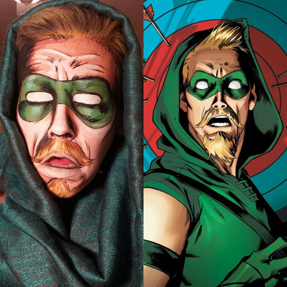 Maquiadora transforma pessoas em heróis de histórias em quadrinhos 04