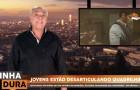 Marcelo Rezende faz comercial para o videogame Battlefield Hardline