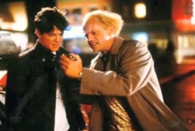 Sabia que o Marty McFly quase não foi interpretado pelo Michael J. Fox Eric Stoltz 27