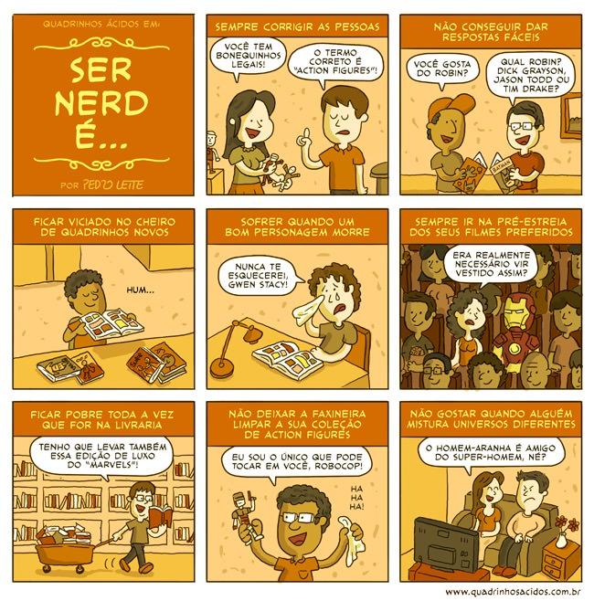 Ser nerd é