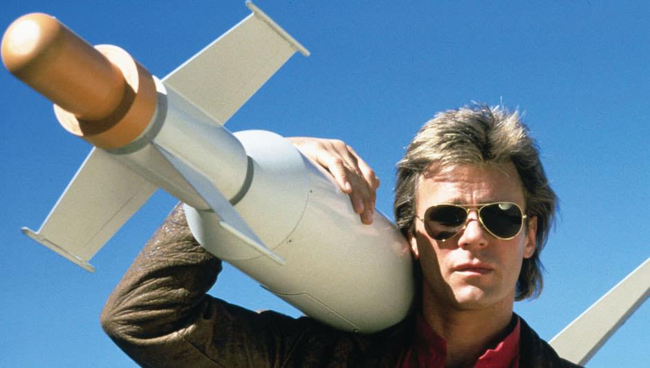 macgyver foguete