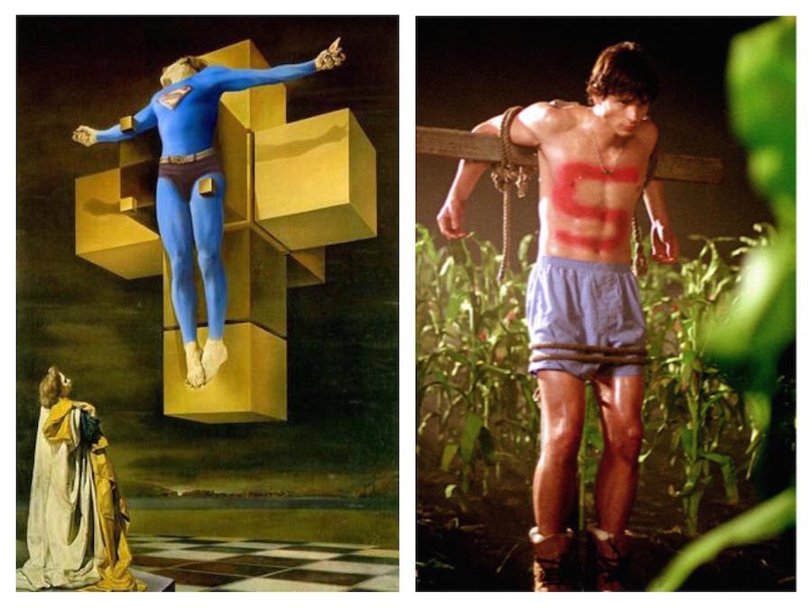 superman crucificado 01