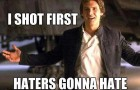 Confirmado Han Solo atirou primeiro 2