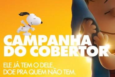 Snoopy & Charlie Brown juntos na Campanha do Cobertor - #CampanhaDoCobertor