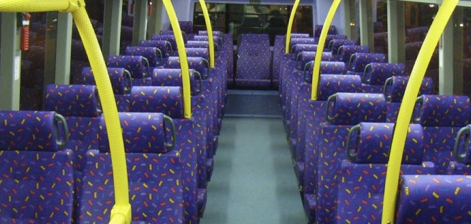 por que os Assentos dos ônibus são estampados