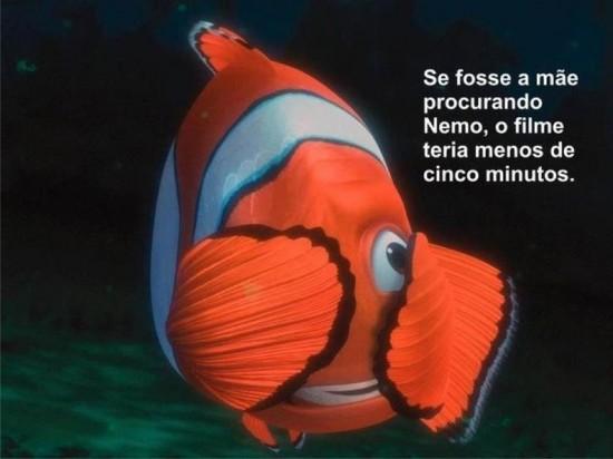 mãe do Nemo procurando