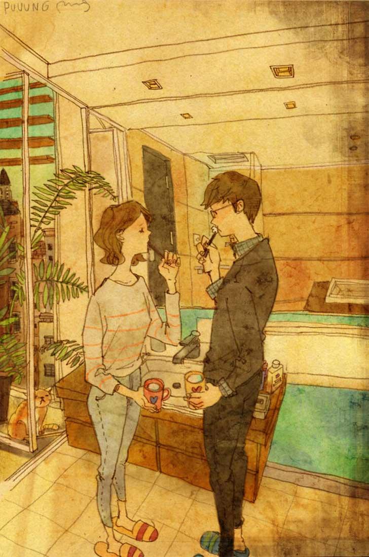 O amor não se mede por palavras e sim com gestos e atitudes 18