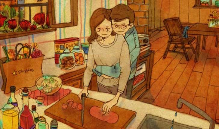 O amor não se mede por palavras e sim com gestos e atitudes 22