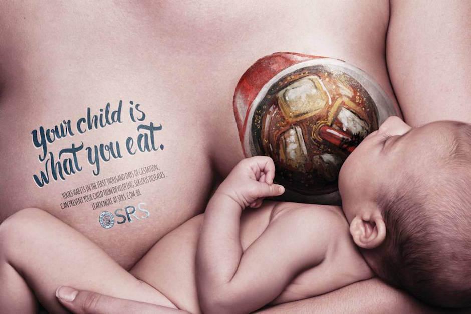 A campanha sobre a importância da alimentação das lactantes que acabou sendo acusada de desestimular a amamentação 03
