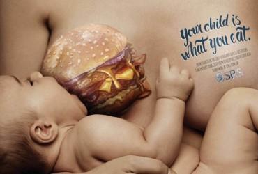 A campanha sobre a importa?ncia da alimentac?a?o das lactantes que acabou sendo acusada de desestimular a amamentac?a?o