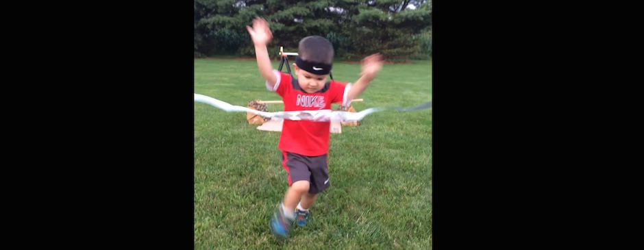 Como treinar para ser um Ninja e fugir dos julgamentos paternos e maternos