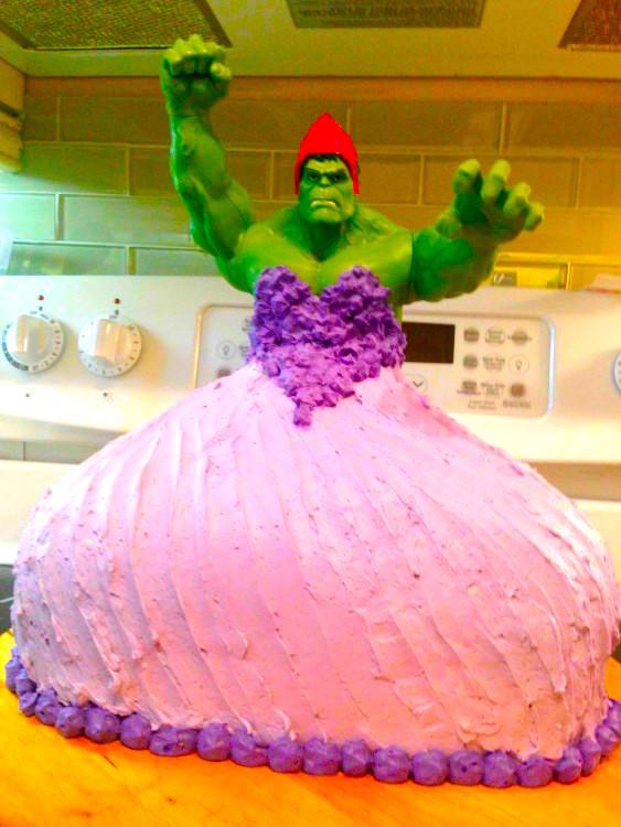 Essa não é a Princesa Hulk que você estava procurando. Ou é