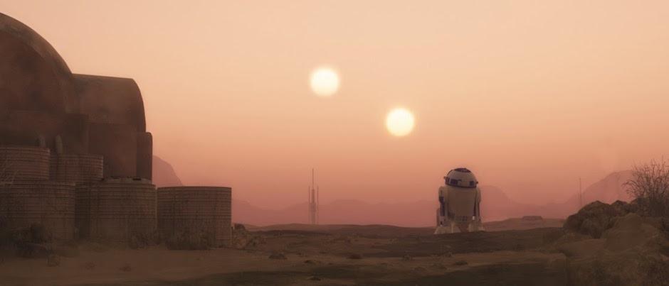Planetas com dois sóis Tatooine