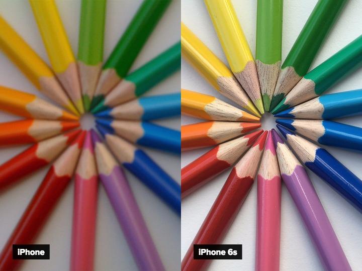 Será que tem muita diferença entre as fotos do 1º iPhone e do iPhone 6S 01