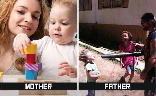 Pai x Mãe quem é o mais desleixado 03