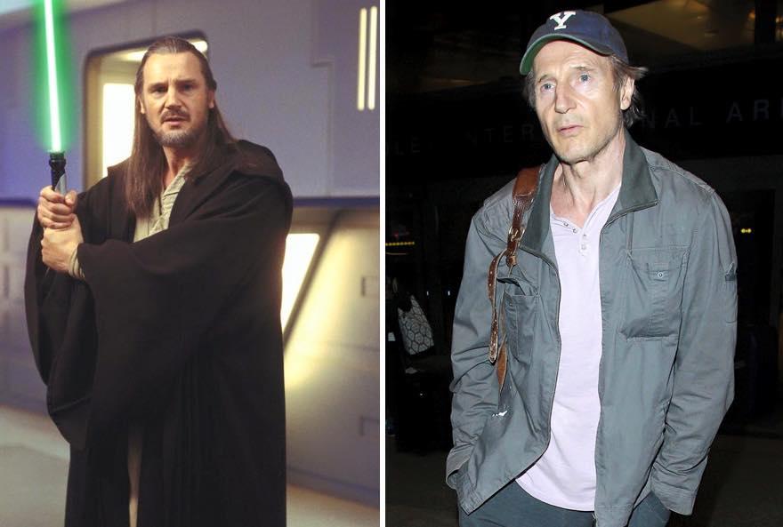 Os atores de Star Wars e o tempo 02