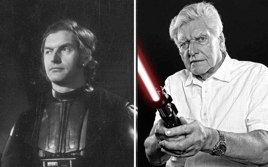 Os atores de Star Wars e o tempo 13