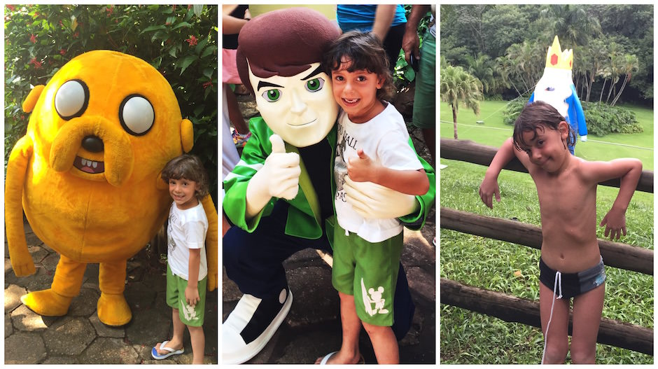 Rio quente resorts - Verão Divertido Cartoon Network - Nerd Pai 07