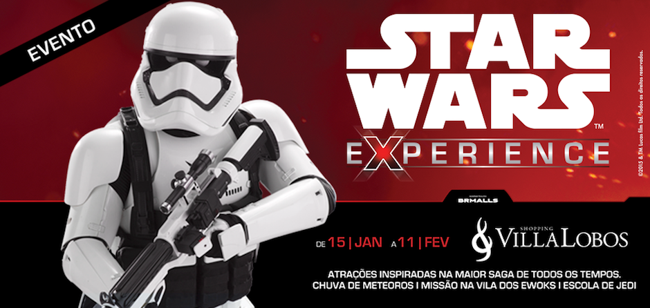 banner star wars experience