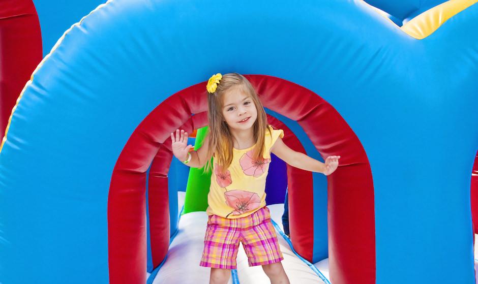 brinquedos de inflar