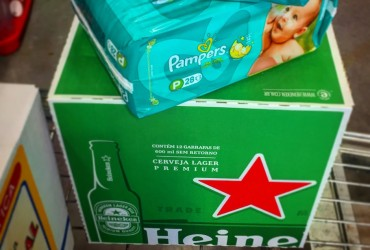 fraldas e cervejas - qual a ligação