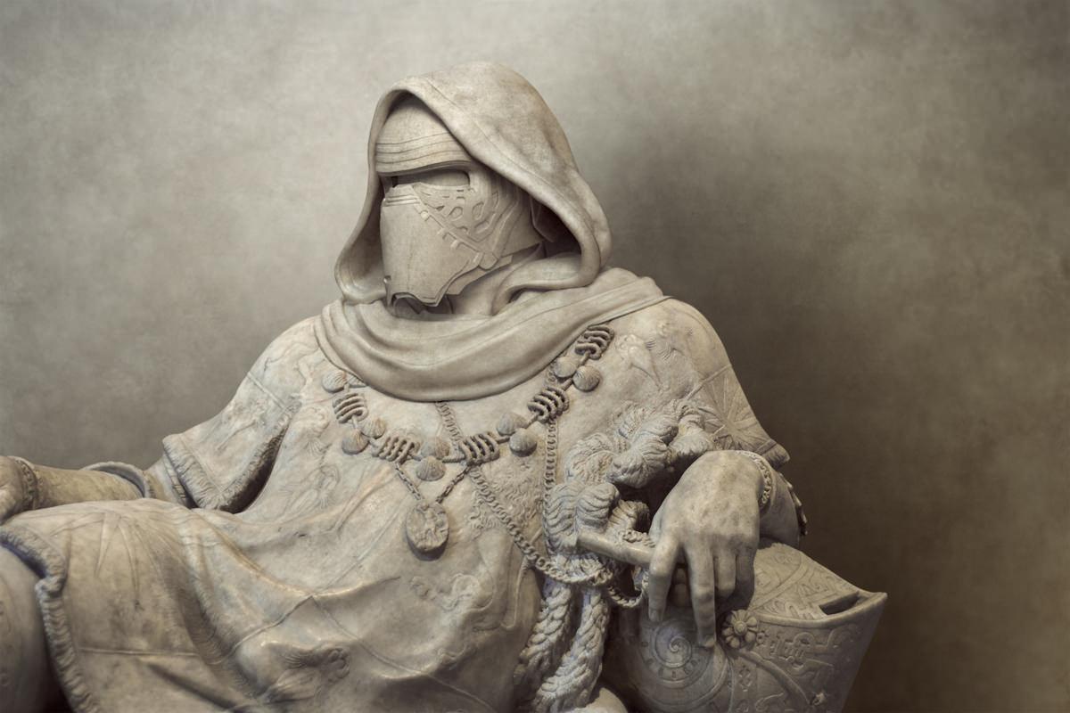 Estátuas Gregas e Romanas de Star Wars 09