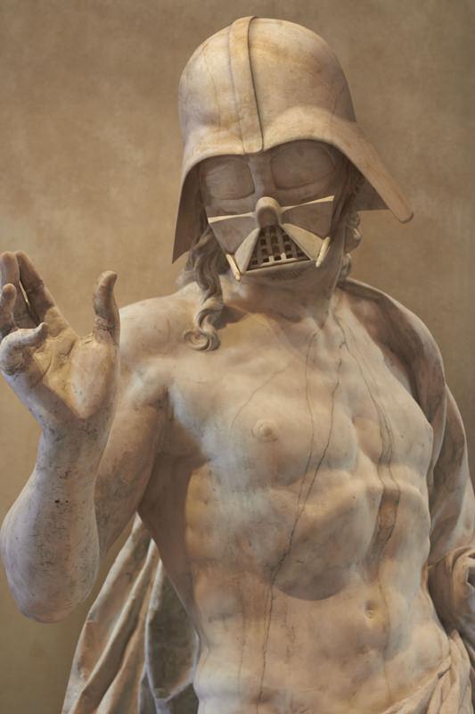 Estátuas Gregas e Romanas de Star Wars 01