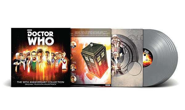Vinil comemorativo de Doctor Who - Eu Quero 02