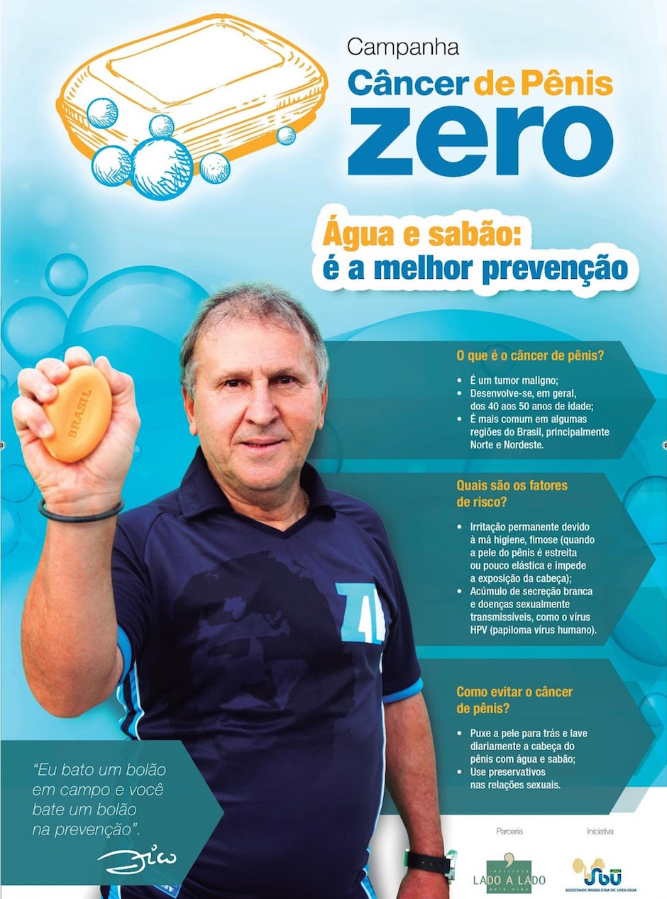 campanha câncer de pênis_zico