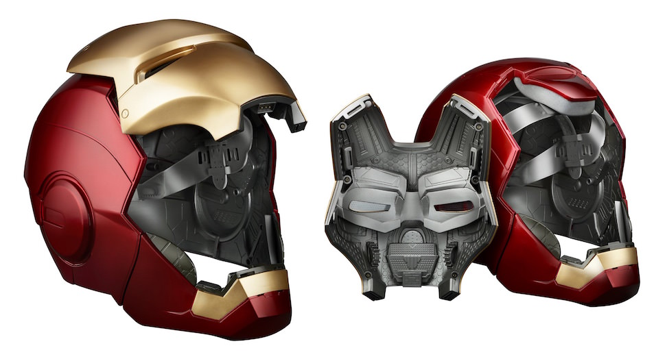 capacete homem de ferro realistico